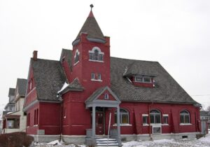 St. Paul's Armenian Apostolic Church, 1908, Syracuse, New York.