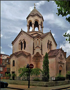 St. Sarkis Armenian Apostolic Church (London, UK)