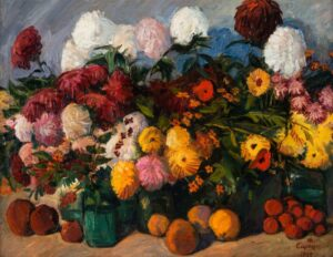 Still Life with Flowers, 1939.