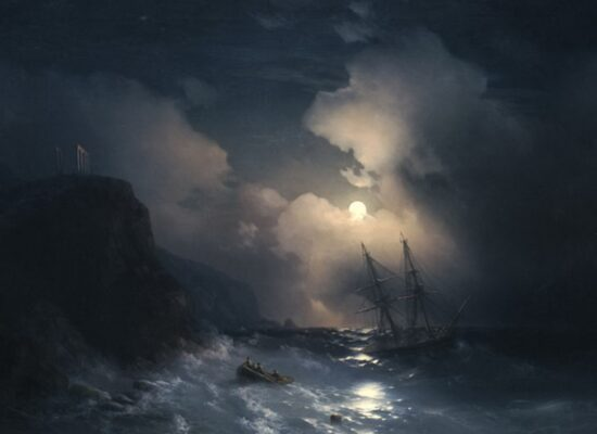 Tempest by Sounion,1856
