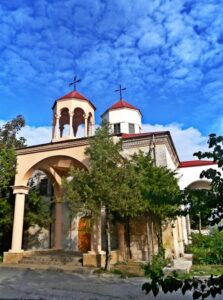 The Armenian Church of St. Nicholas in Yevpatoria
