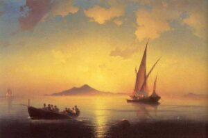 The Bay of Naples, 1841.