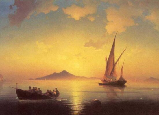 The Bay of Naples, 1841