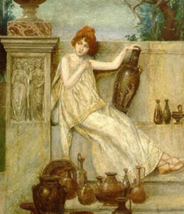 The Girl with the Jugs,1900