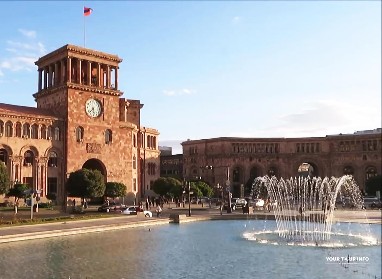 The Government House of Armenia