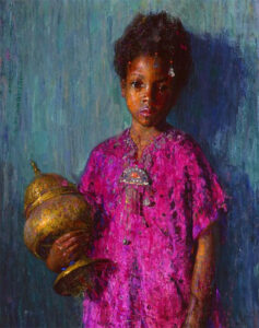 The Incense Burner,1919, Pushman