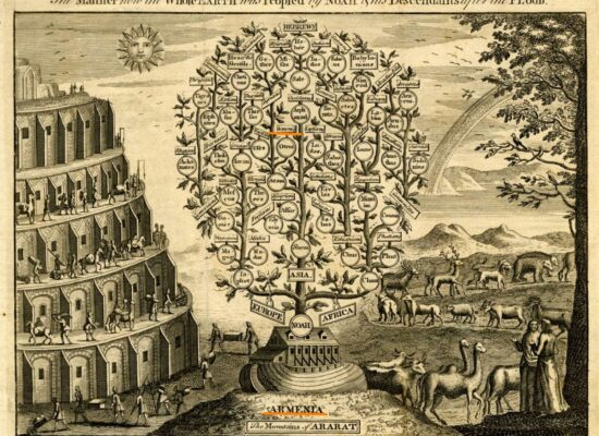 The Manner how the Whole Earth was Peopled by Noah & his Descendants after the Flood. 1749. British Museum.