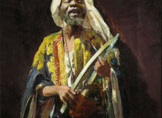 The Moor Musician, Pushman