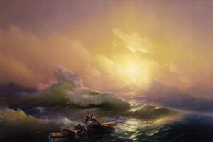 The Ninth Wave, 1850. The Most Famous Work.