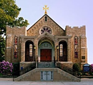 The St. James (Hagop) Armenian church, Watertown, USA founded in 1900