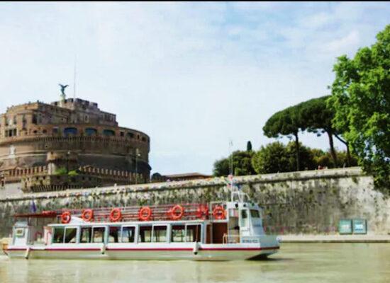 Hop On Hop Off Cruise Boat, Tiber River