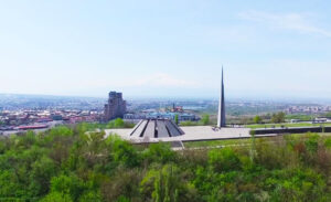Tsitsernakaberd, Memorial Complex to the Victims of the Armenian Genocide 1915.