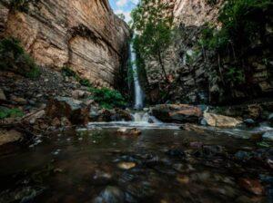 Vahagni waterfall, Khosrov Reserve, Ararat Province