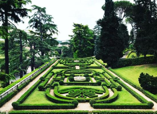 Vatican Gardens (Giardini Vaticani).