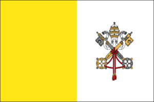 Vatican City Flag,