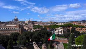 Vatican from Castel Sant Angelo