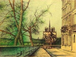 Vers Notre Dame.