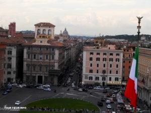View from Altare della Patria.