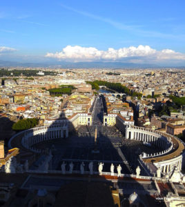 View From St Peter Basilica Cupola
