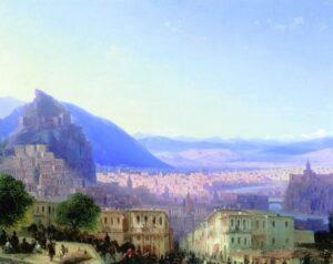 View of Tiflis, 1868