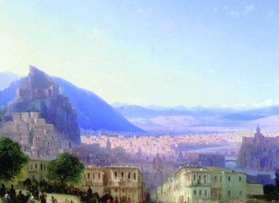 View of Tiflis, 1868.