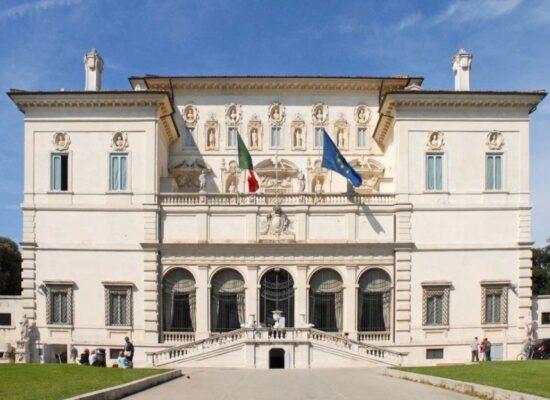 Villa Borgheze, 1580. I Piazzale Napoleone.