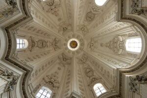 Cupola, Church of Saint Ivo at La Sapienza, 1642-1660, by Borromini.