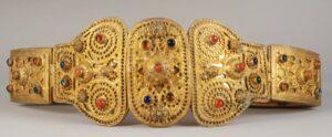 Armenian Priest's Belt, 19th century, Armenian Museum of France